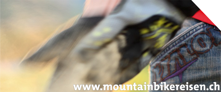 Mountainbikereise CH - Header
